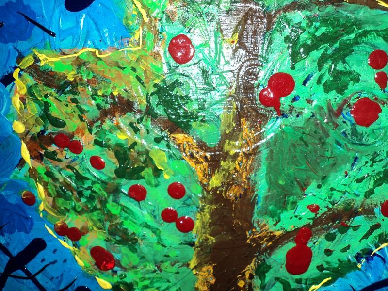 lulu-tree of life-koruna stromu