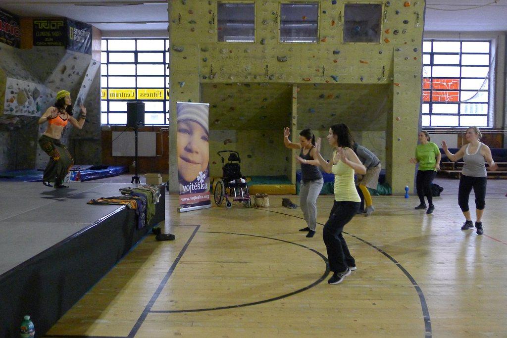 Fitness-and-dance-Charity: Blanka a Africký tanec