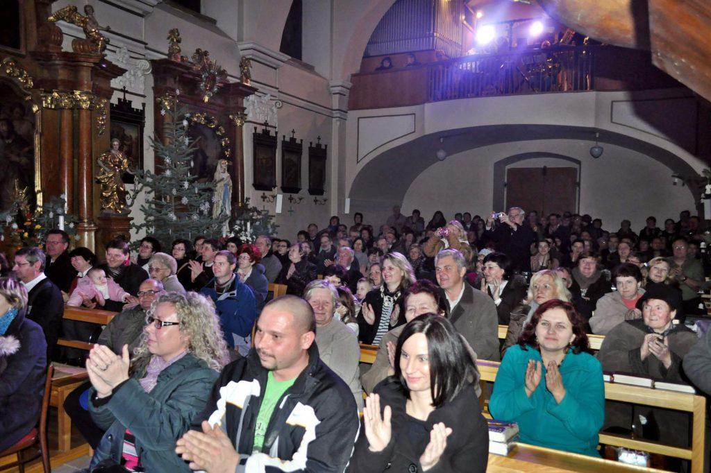Potlesk nadšených diváků